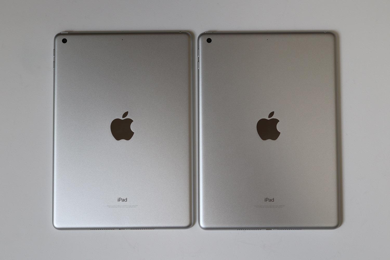 iPad 第6世代 vs 第5世代 背面デザイン比較
