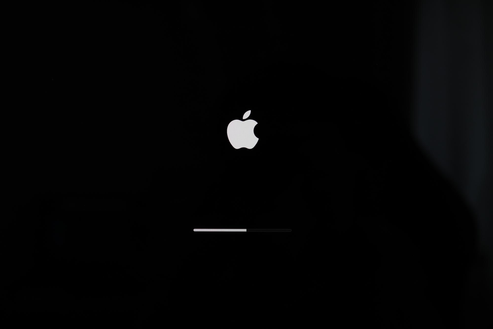 macOS 起動画面