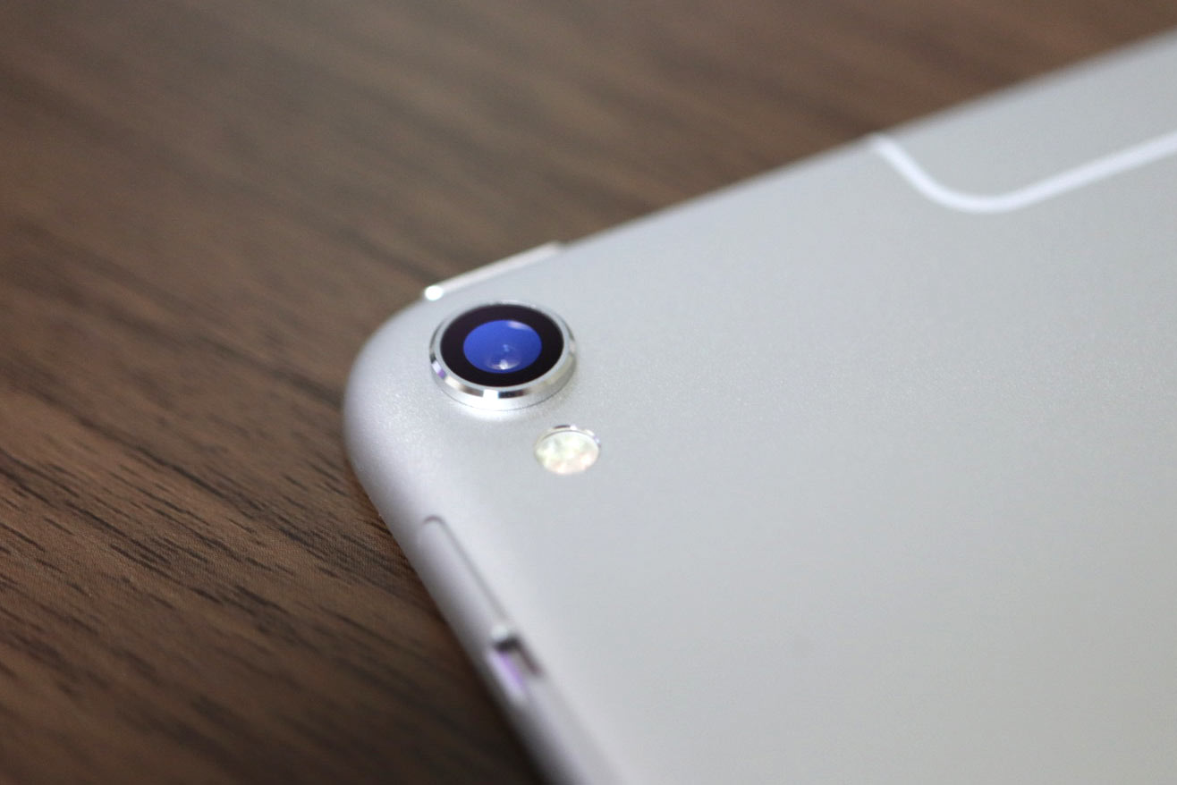 iPad Pro 背面カメラ