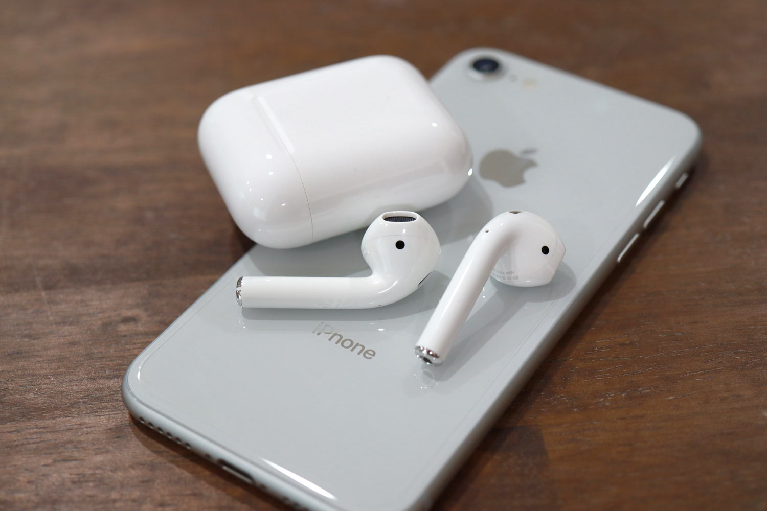 AirPodsとiPhone