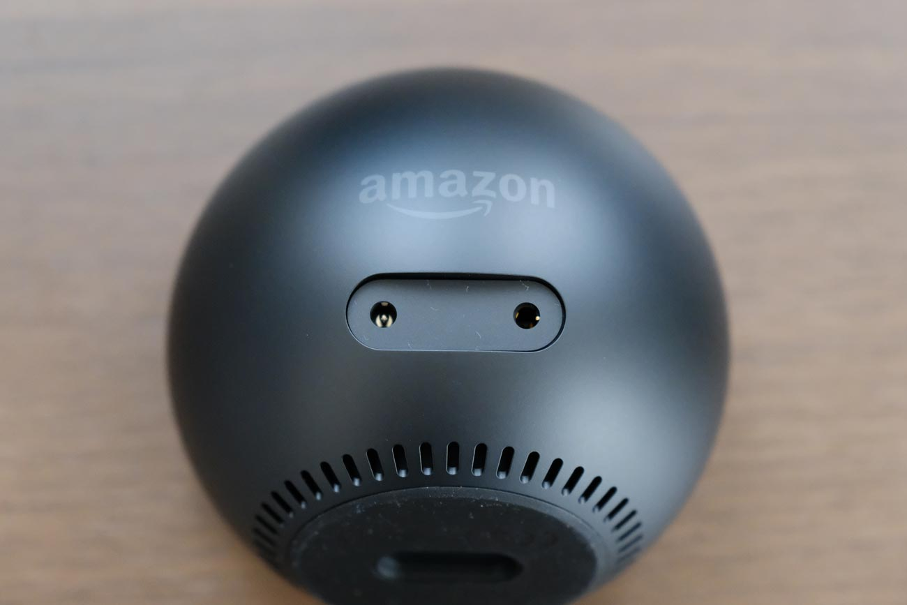 Echo Spot ポート