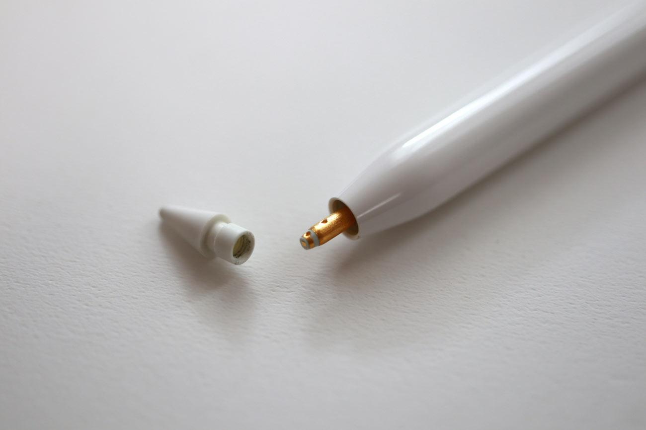 Apple Pencil ペン先取り外し