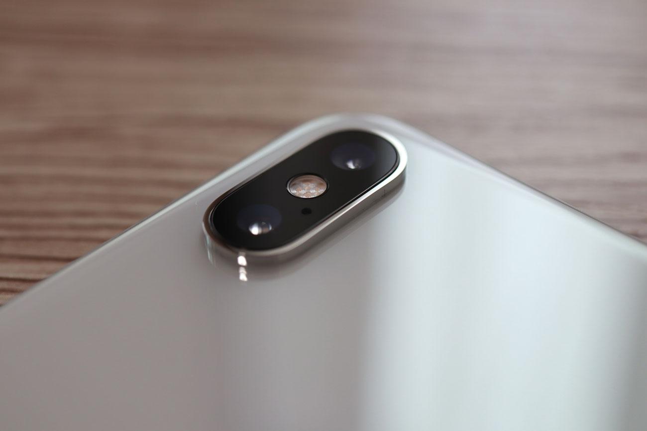 iPhone XS Max ダブルカメラ