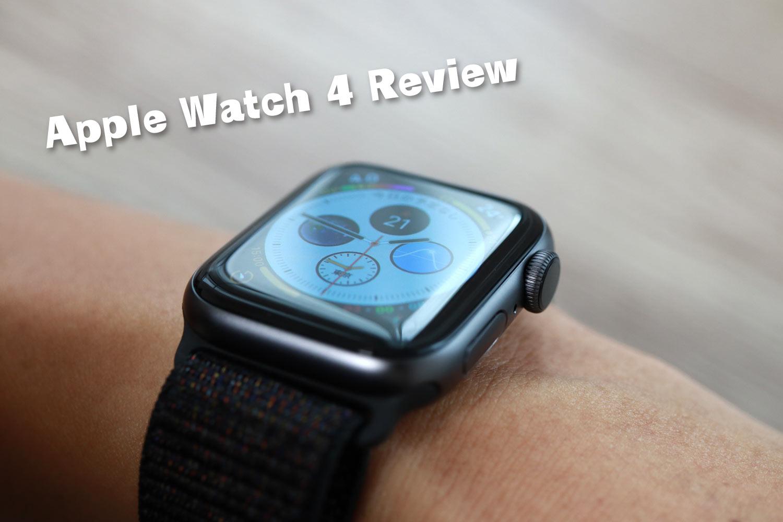 Apple Watch 4 レビュー