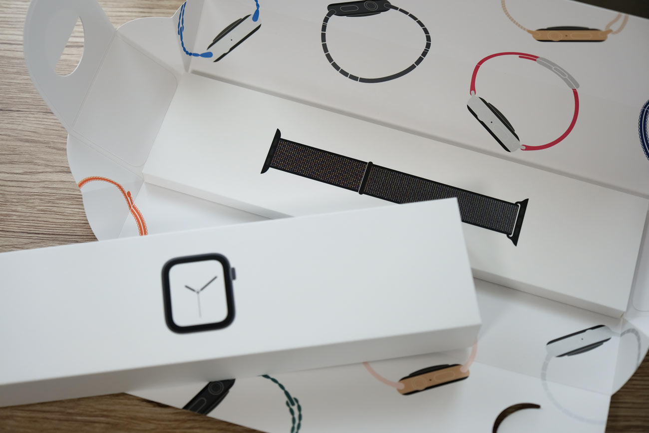 Apple Watch 4 テンション上がるパッケージ