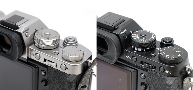 X-T3とX-T2 操作ダイヤル