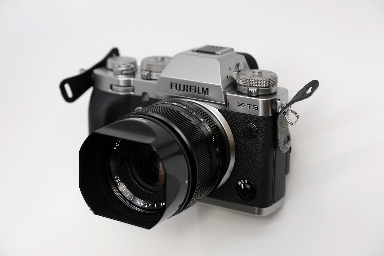X-T3とXF35mmF1.4R