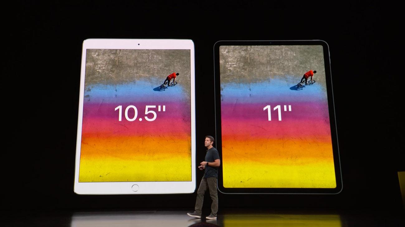 iPad Pro 10.5とiPad Pro 11の大きさ比較