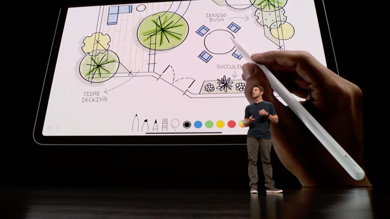 Apple Pencil 第2世代 タッチ操作に対応