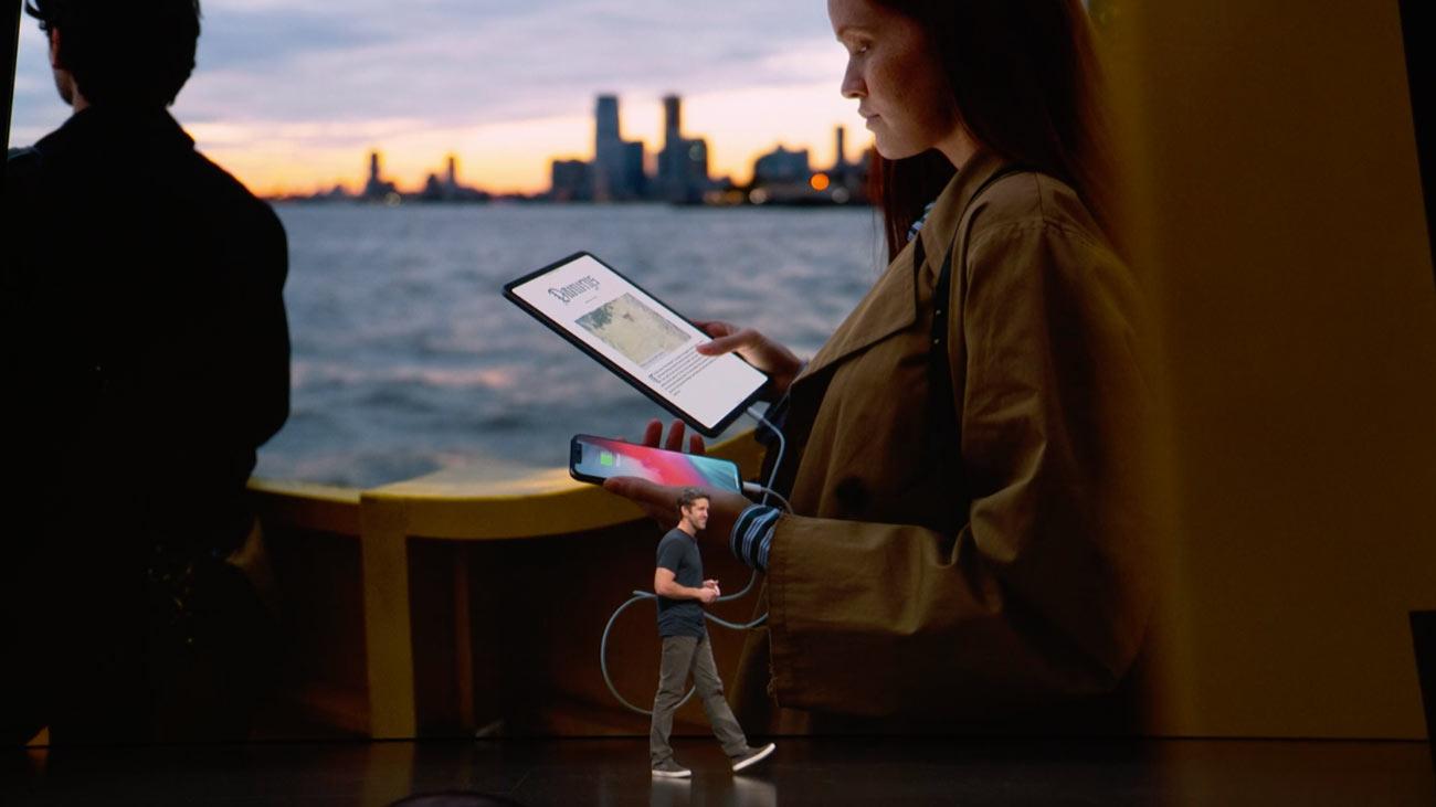 iPad Proがモバイルバッテリー化