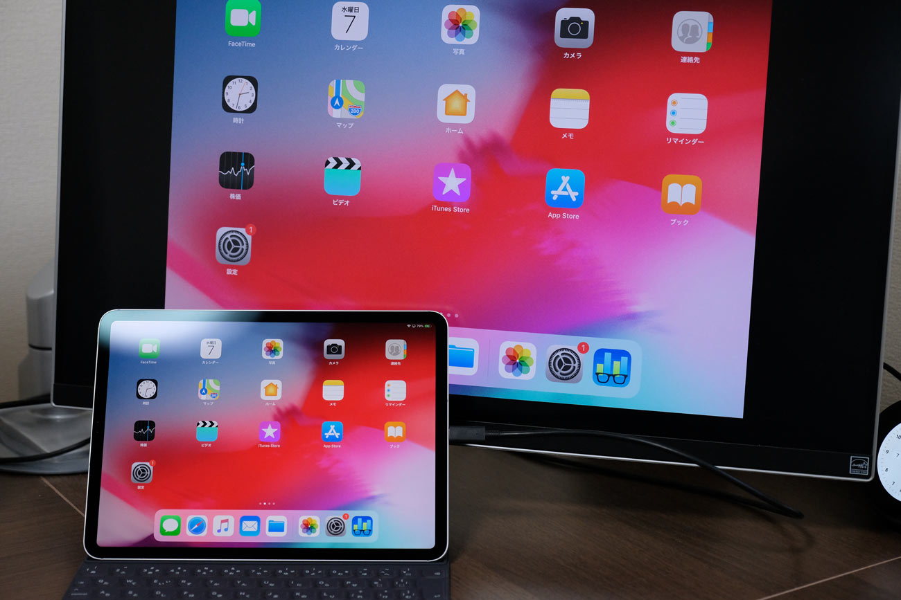 iPad Pro 4kモニター