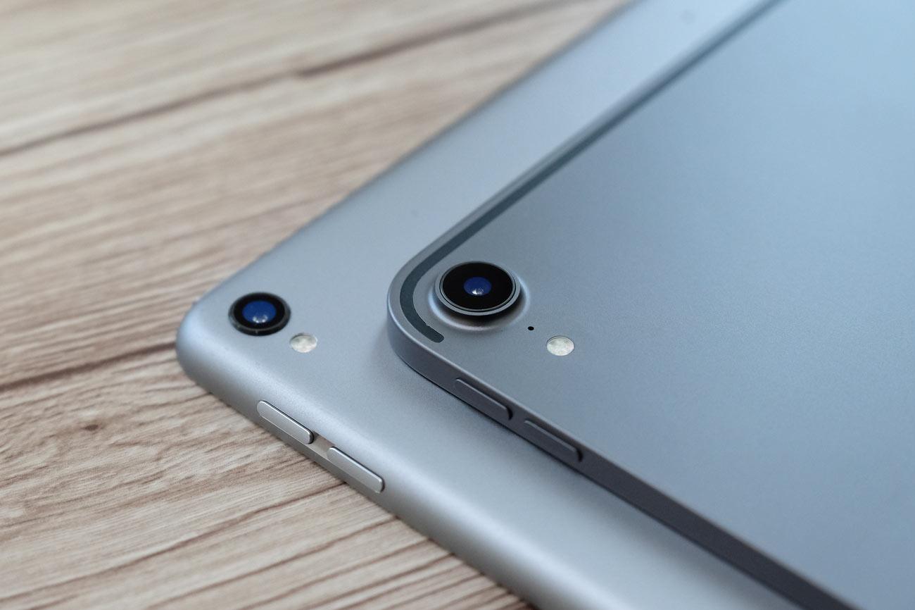 iPad Pro 12.9(第3世代)背面カメラ