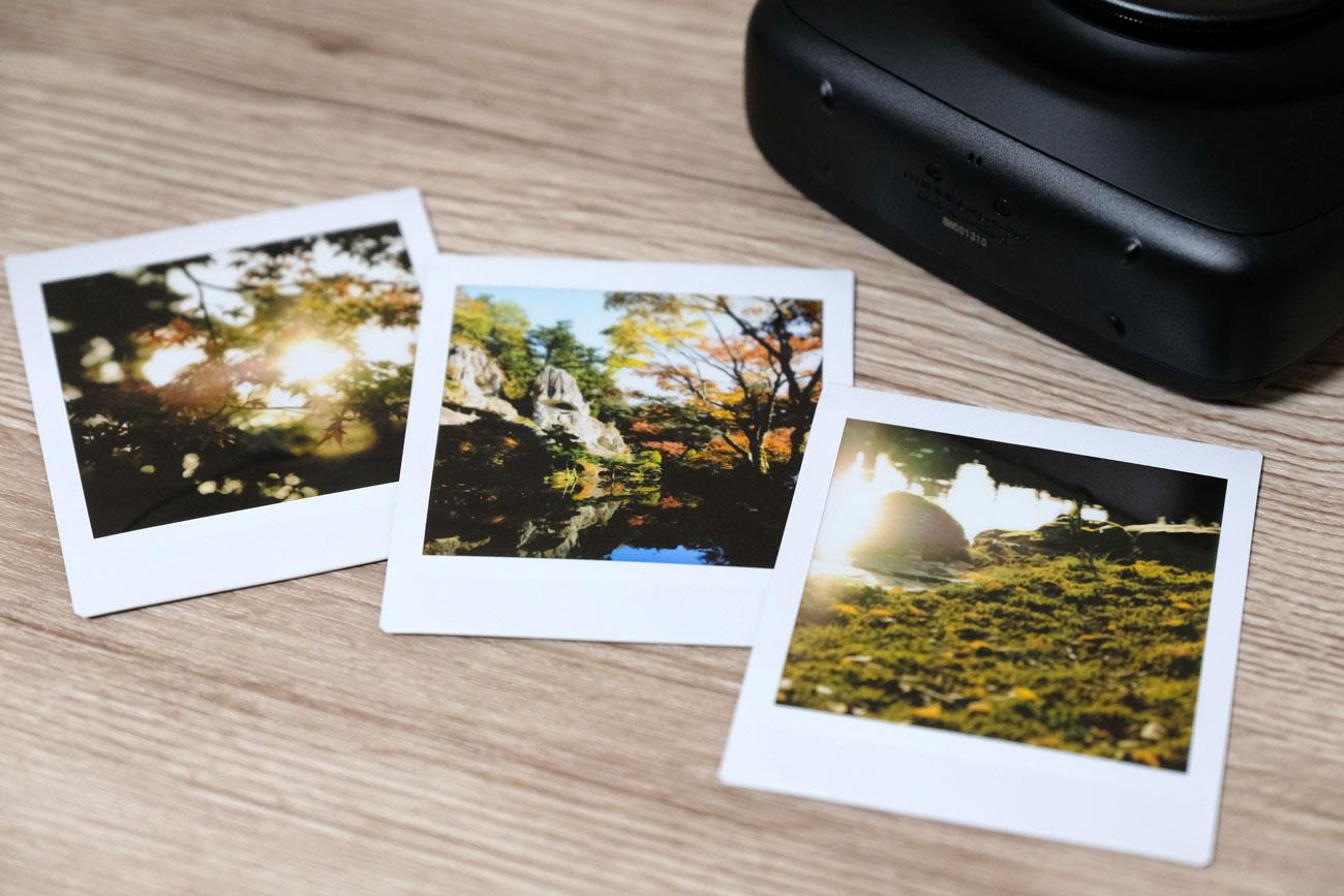 instaxSQ20 違うカメラの画像をプリント