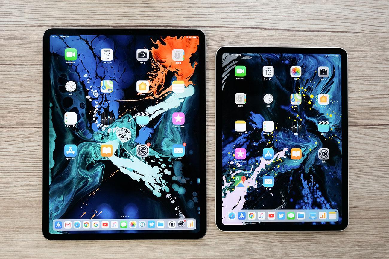 iPad Pro 12.9インチと11インチ