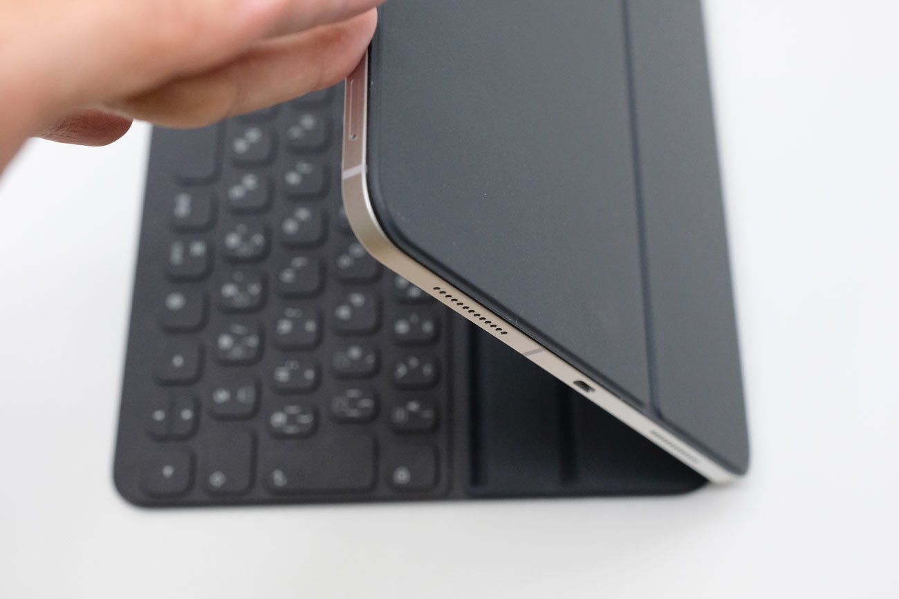 Smart Keyboard Folio 折りたたみ