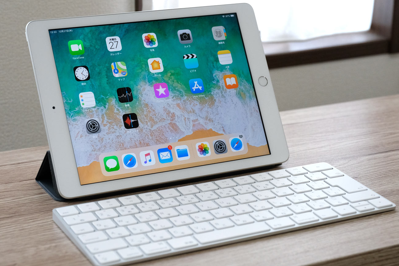 Magic KeyboardをiPad(第6世代)で使う