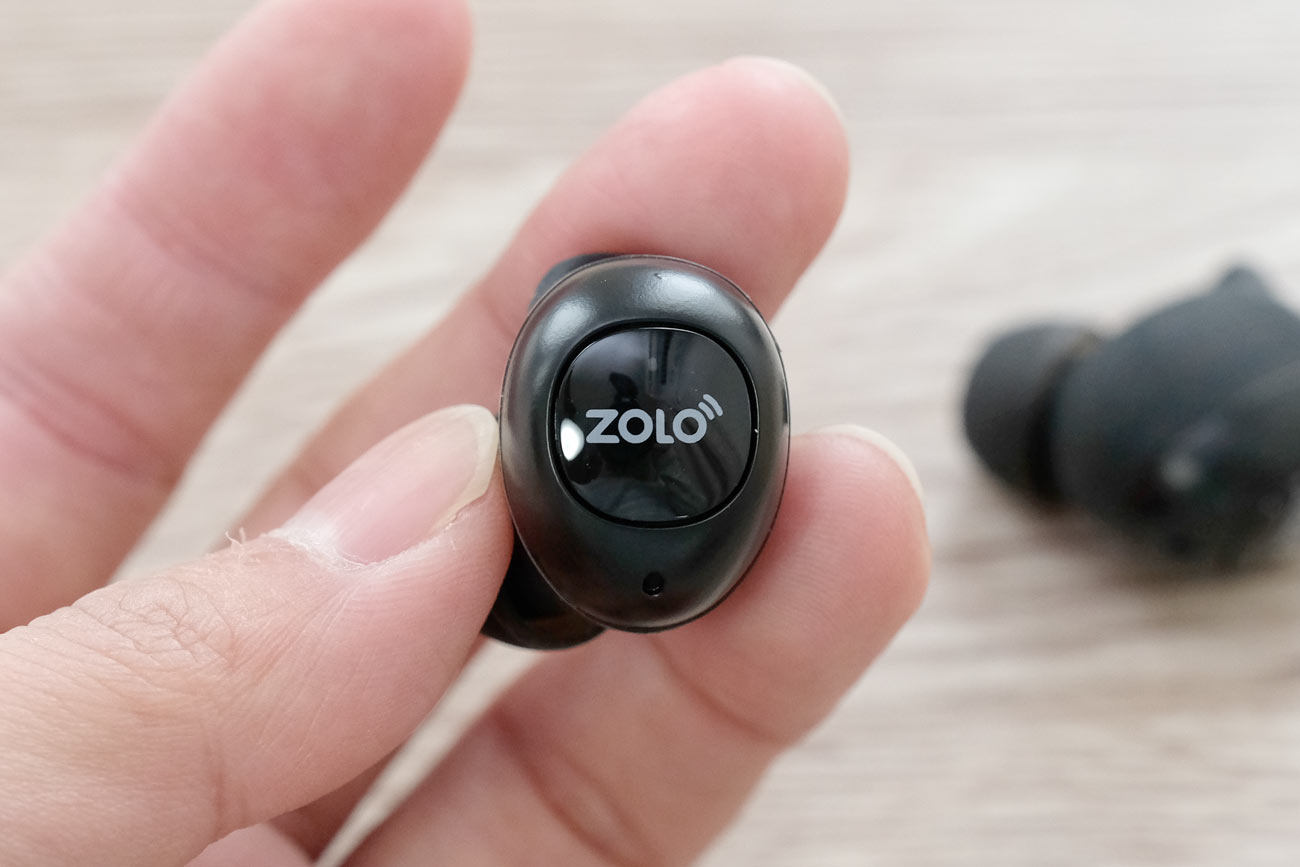 Zolo Liberty+ 物理ボタン