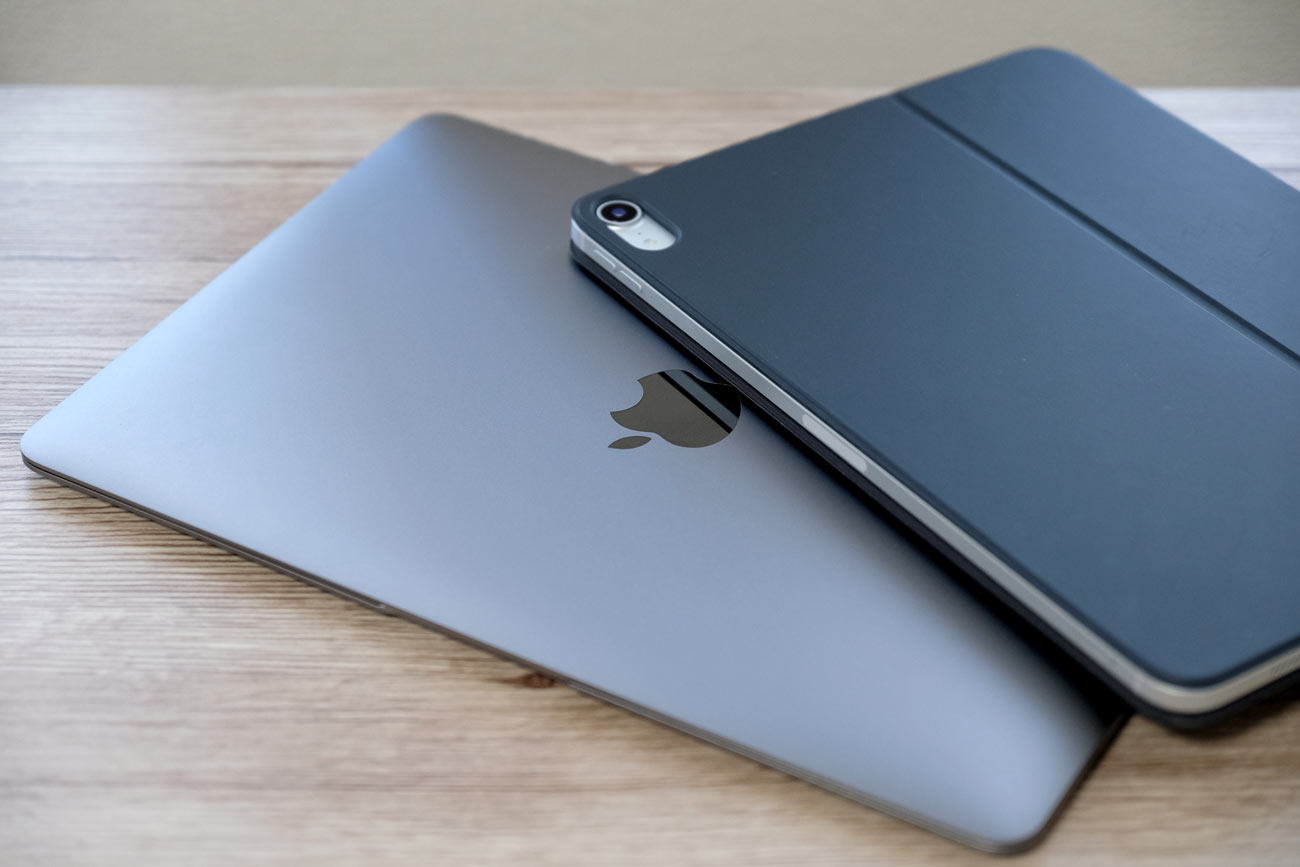 MacBookとiPad Pro
