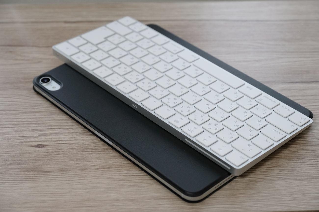 薄いタイプのキーボード