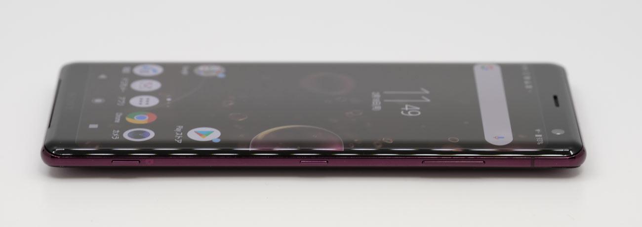 Xperia XZ3 サイドボタン