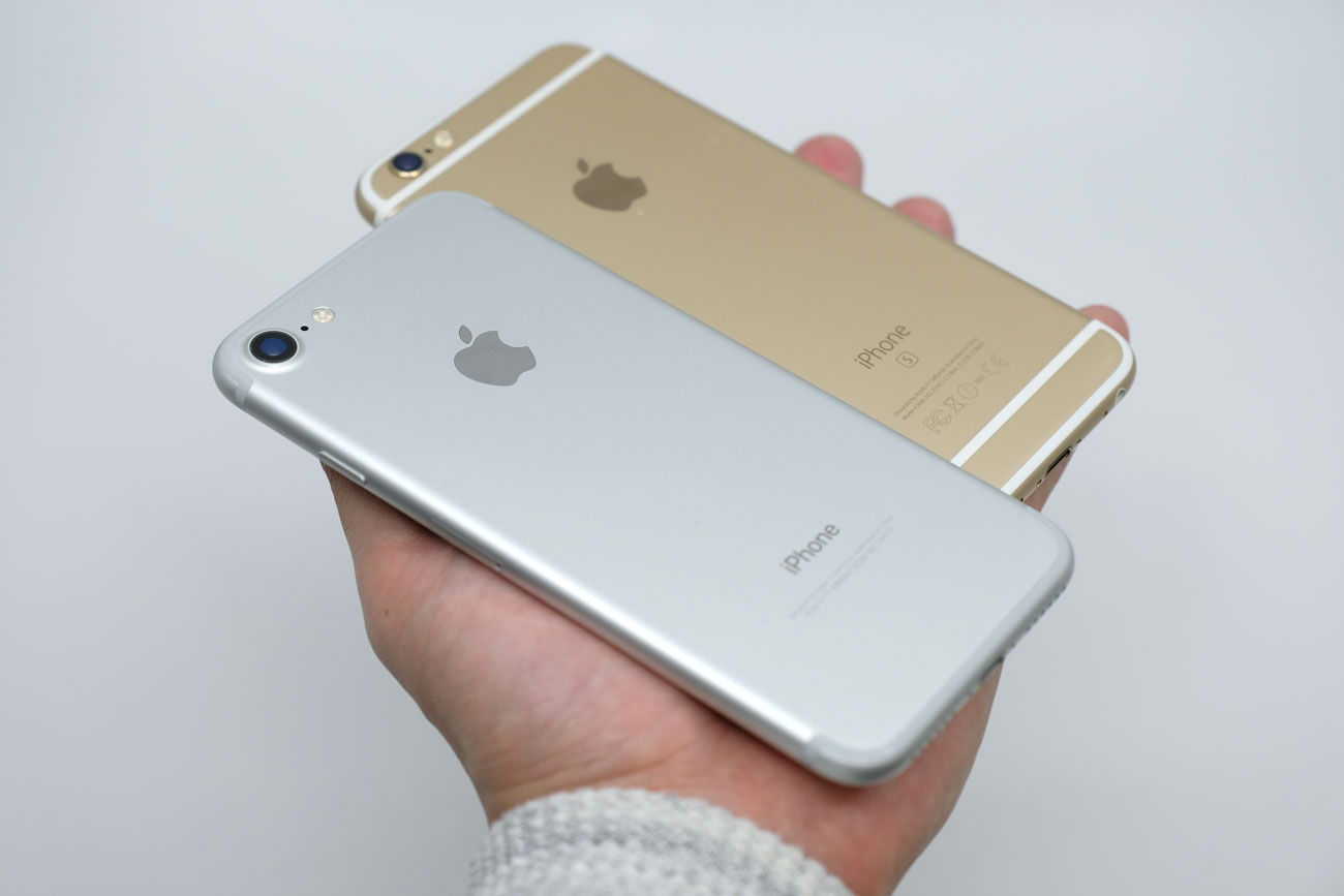 iPhone 7とiPhone 6s