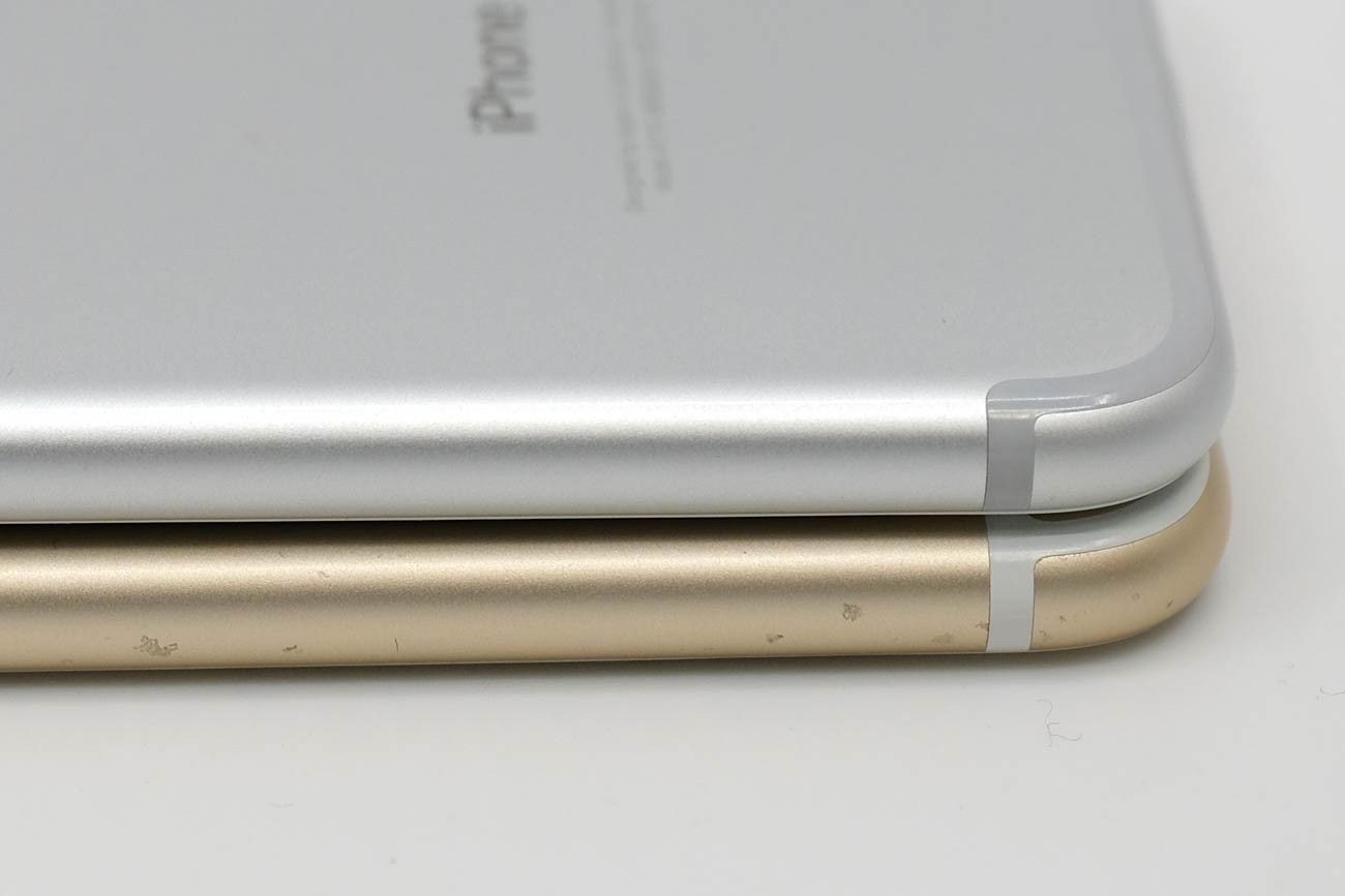 iPhone 7とiPhone 6s アルミ素材の耐久性の違い