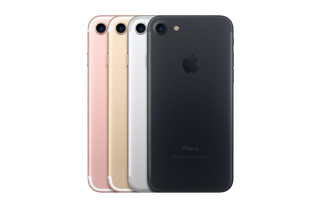 iPhone 7 カラーバリエーション