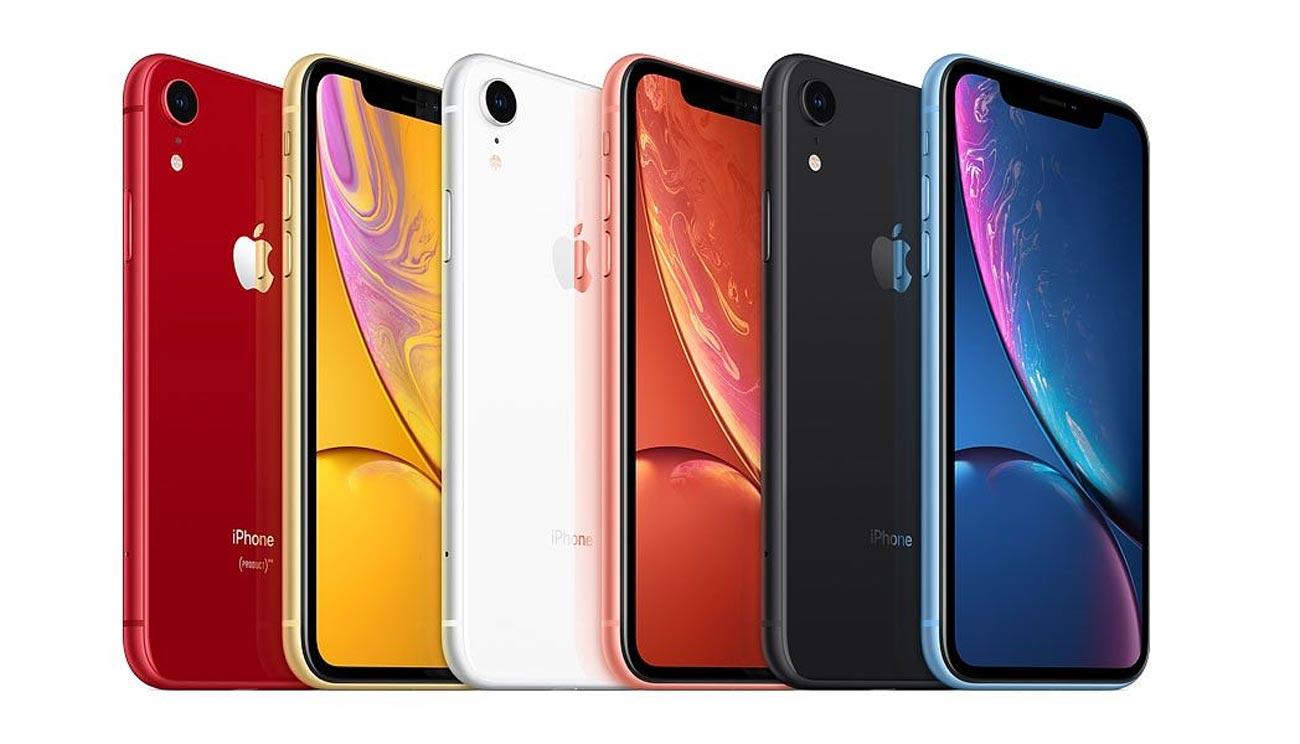 iPhone XR カラーバリエーション