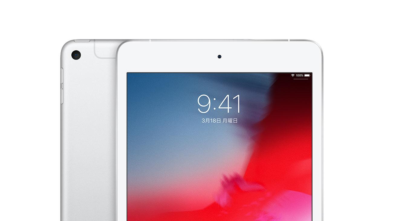 iPad mini(2019)アンテナライン