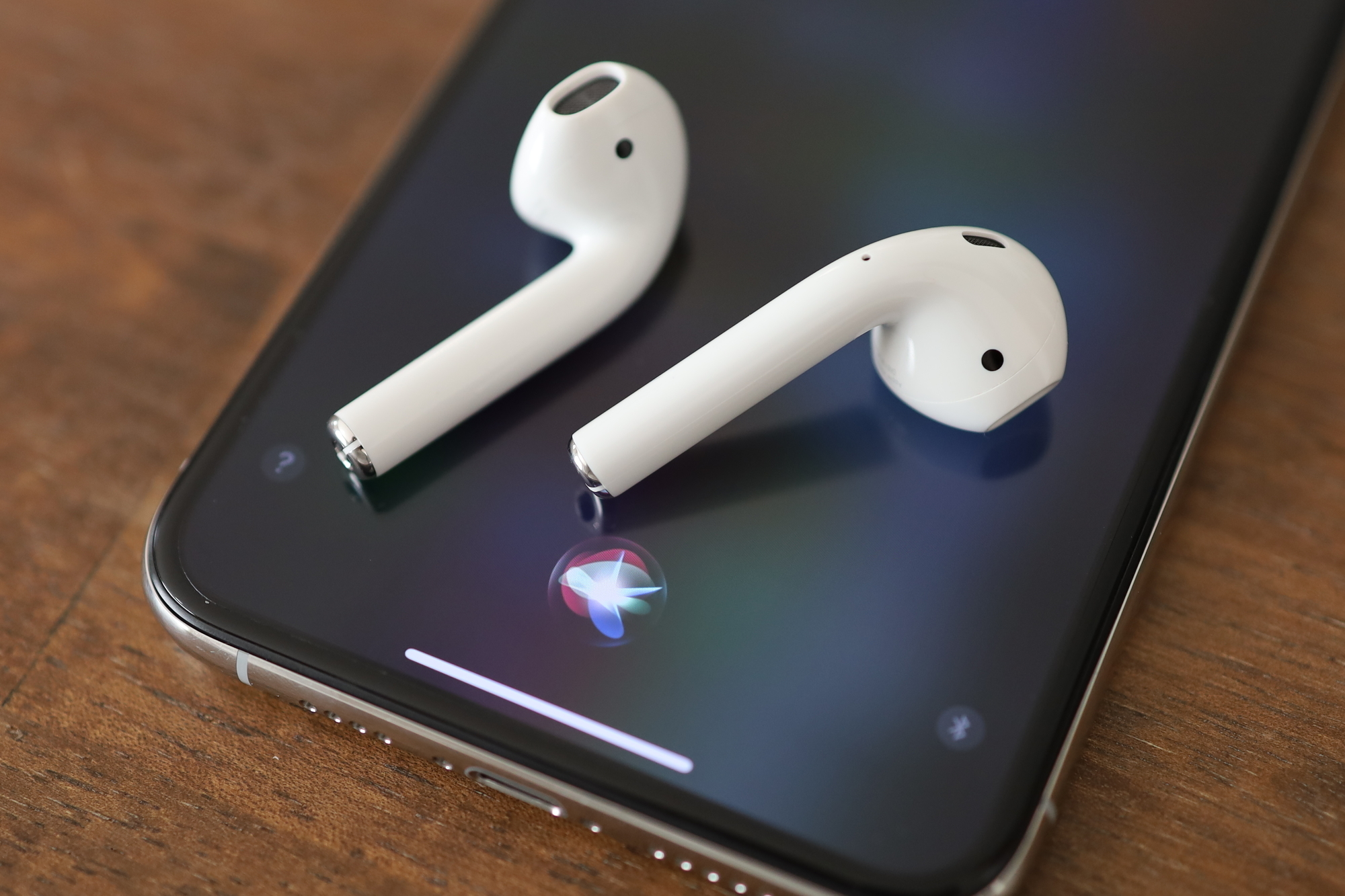 AirPods(第2世代)Siriに対応