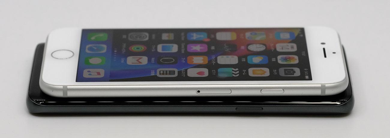 Galaxy S9とiPhone 8 電源ボタンの違い