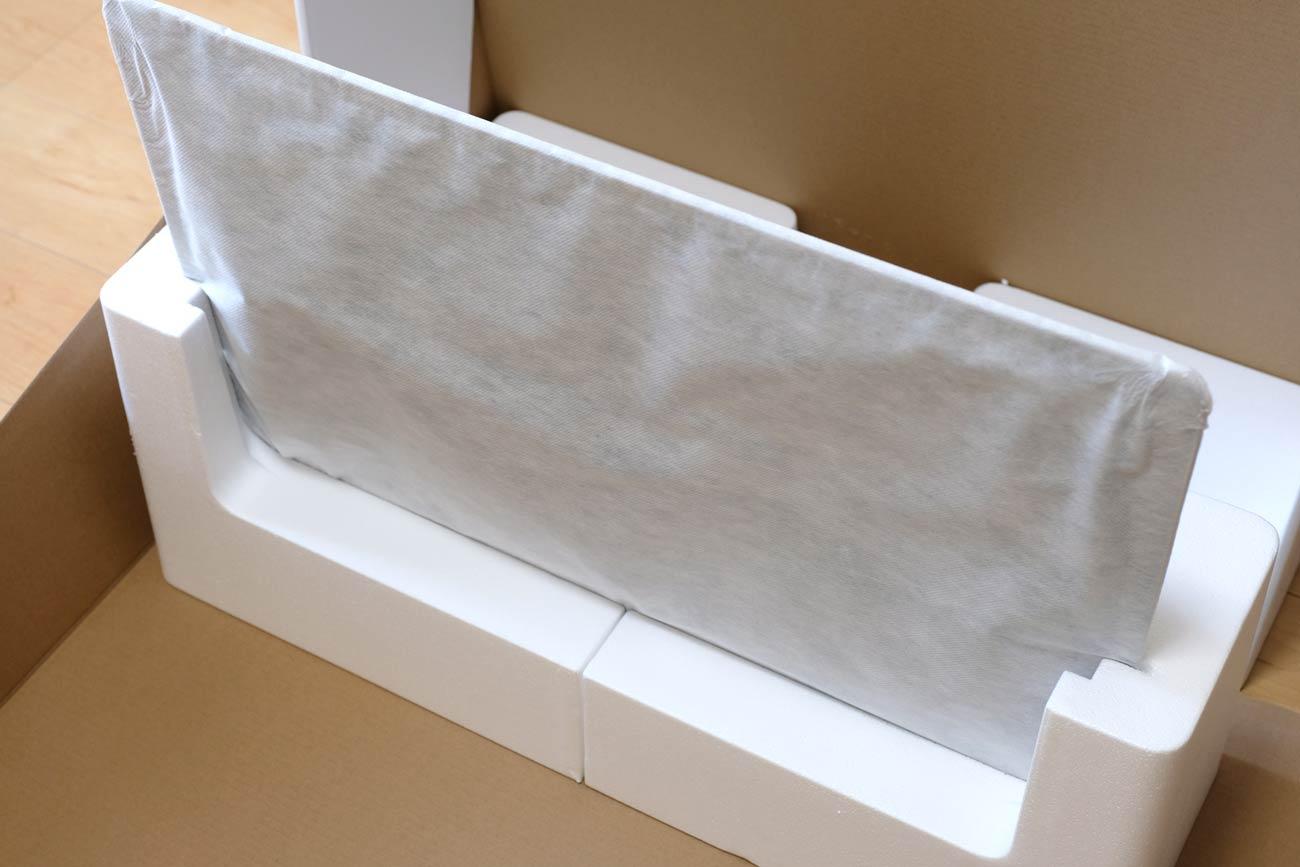 iMac 27インチ VESAマウントアダプタ搭載モデル 梱包状態