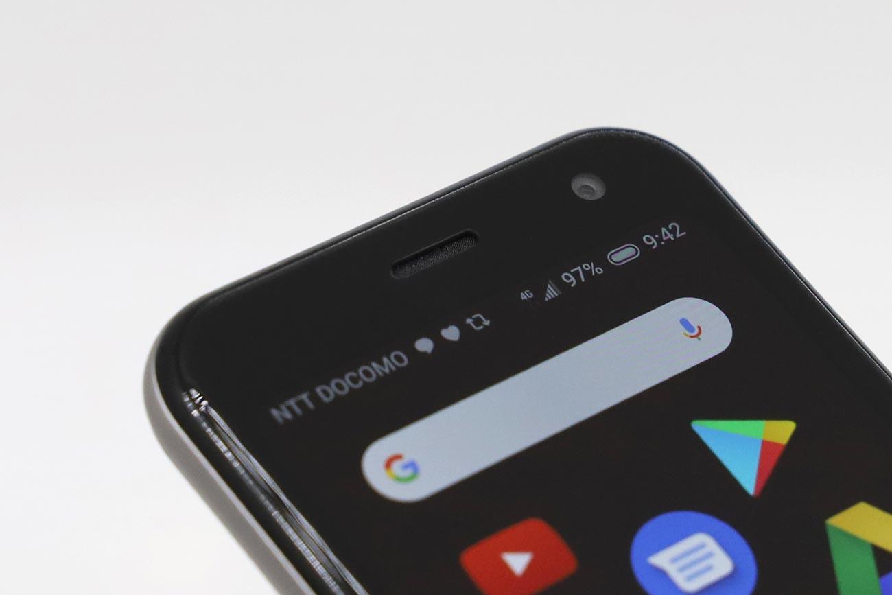 Palm Phone フロントカメラ