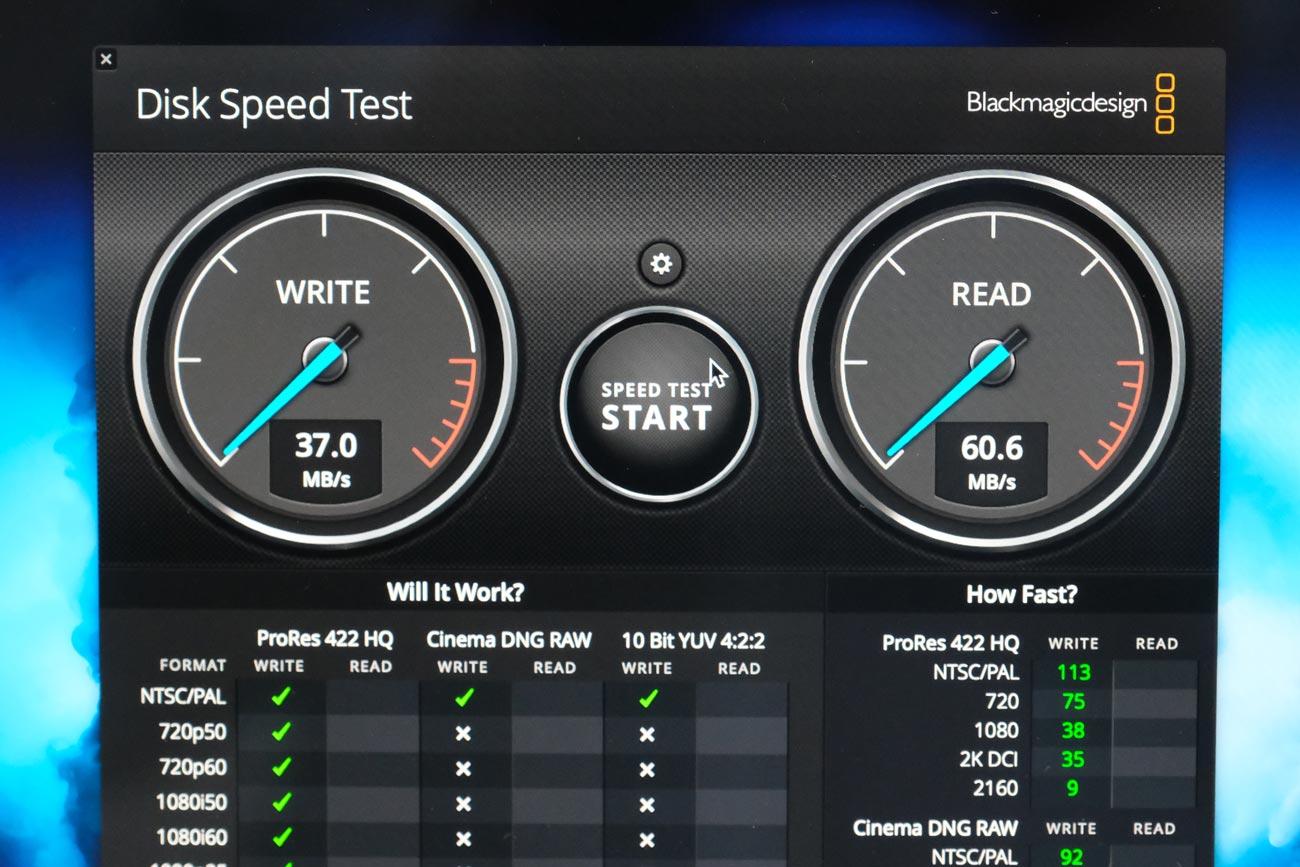 ODOMY USB-C ハブ 8in1 USBメモリ(USB-A)の転送速度