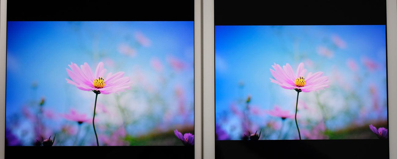 iPad Air 3とiPad(第6世代)画面の綺麗さを比較