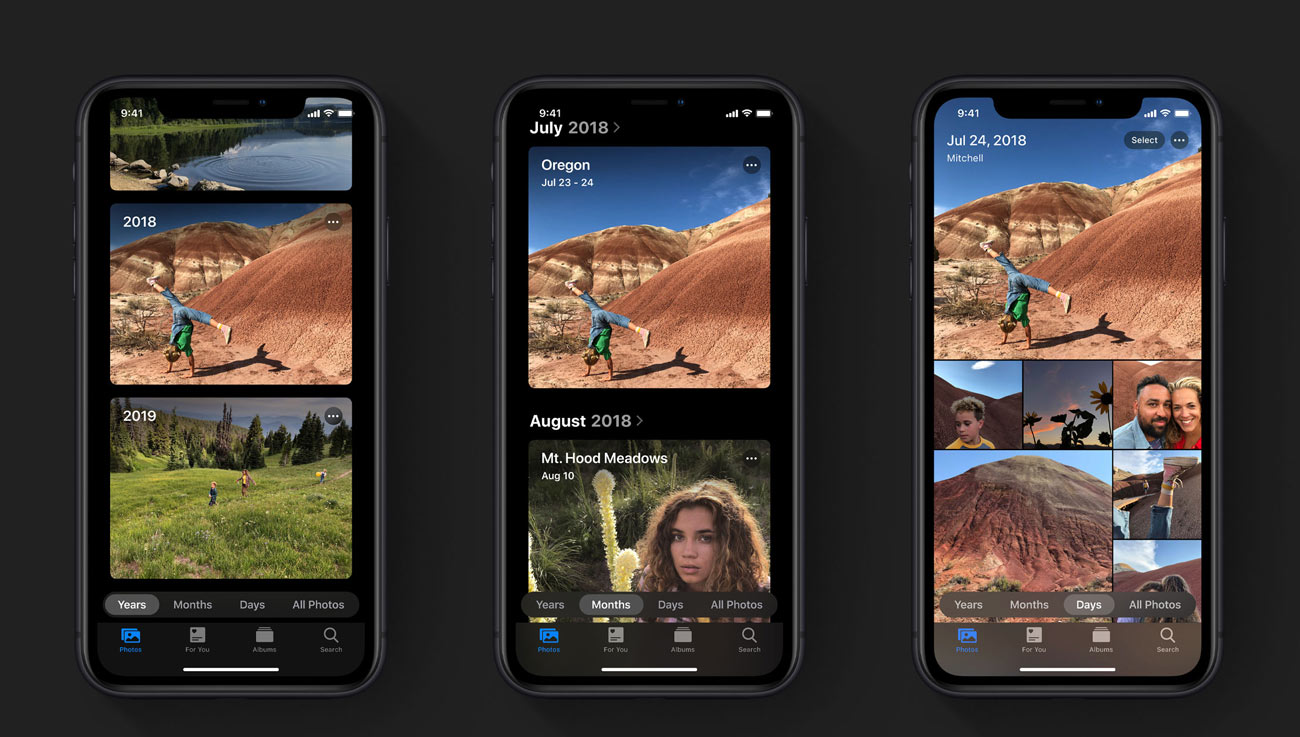 iOS 13 新しい写真アプリ
