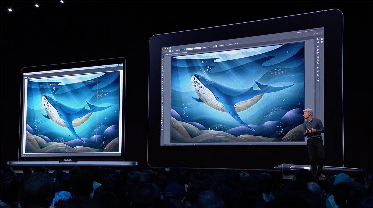 Macの画面をiPadに表示