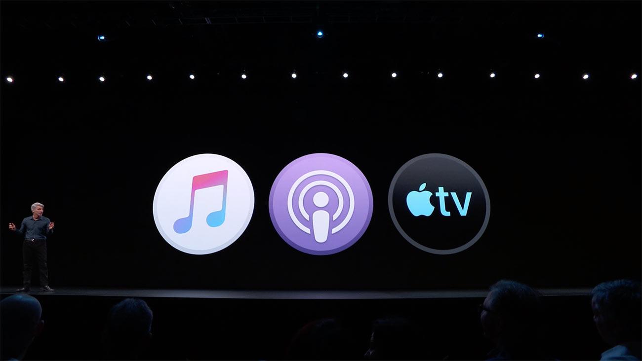 macOS Catalina iTunesが廃止
