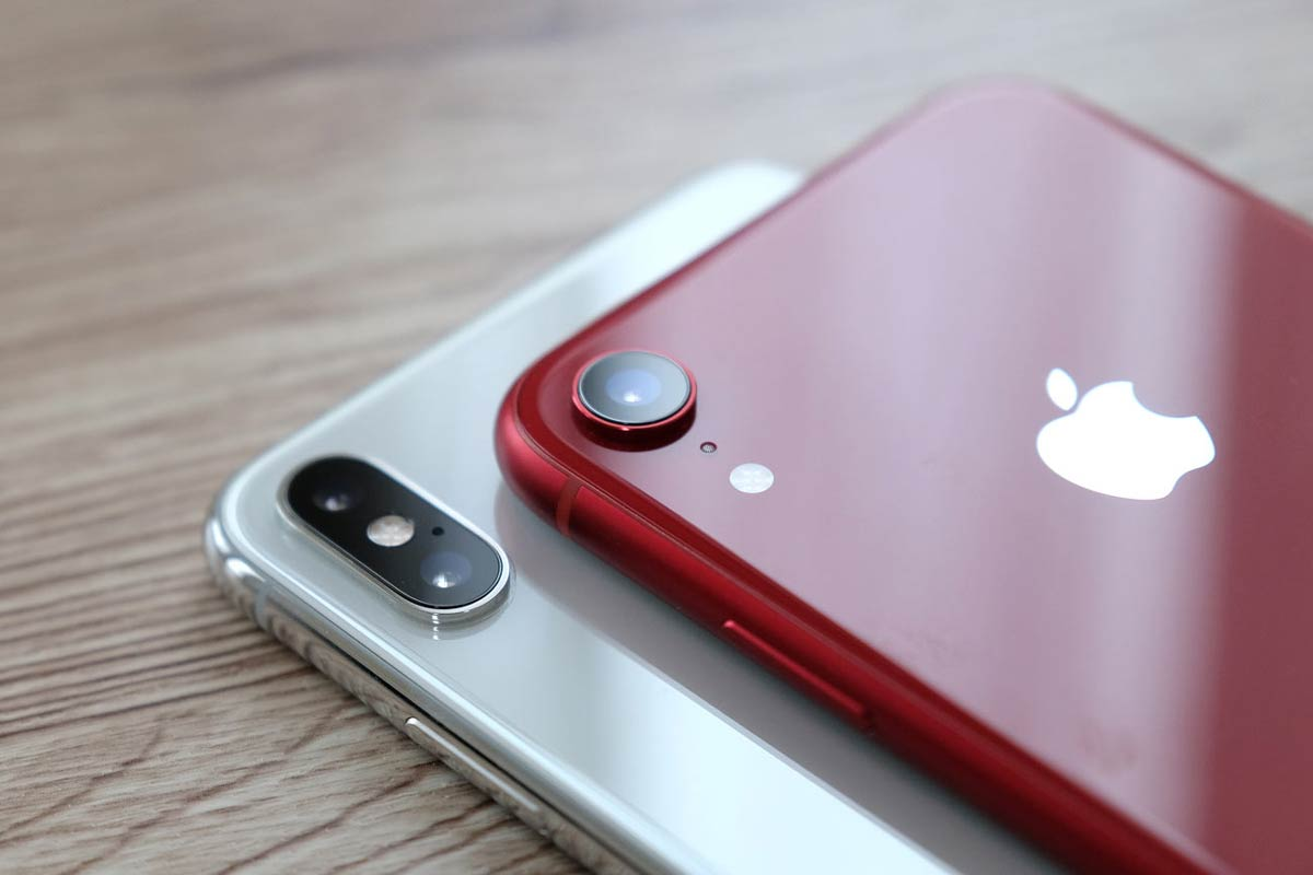 iPhone XR・XS Max カメラの違い