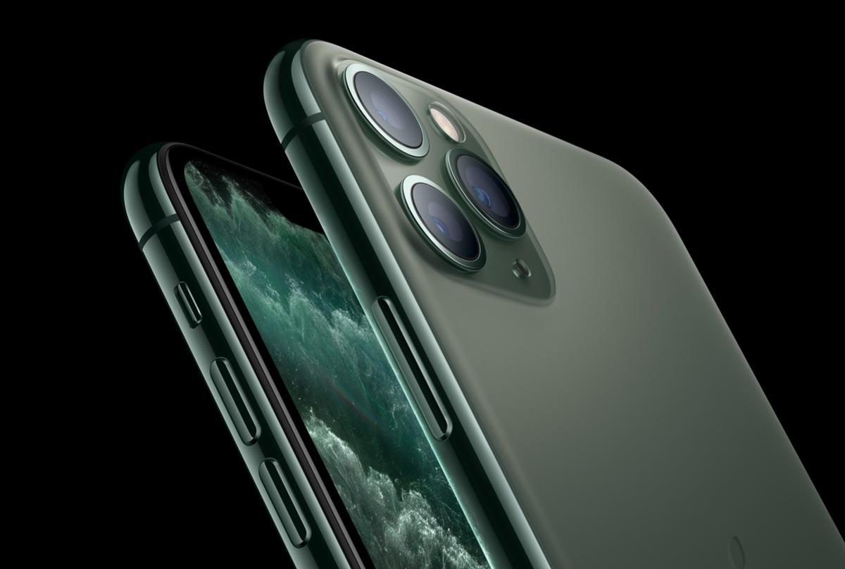 iPhone 11 Pro カメラのデザイン