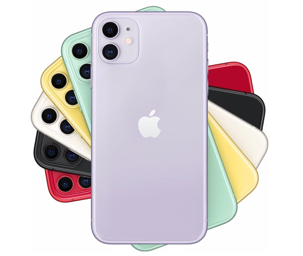 iPhone 11 本体カラー全6色