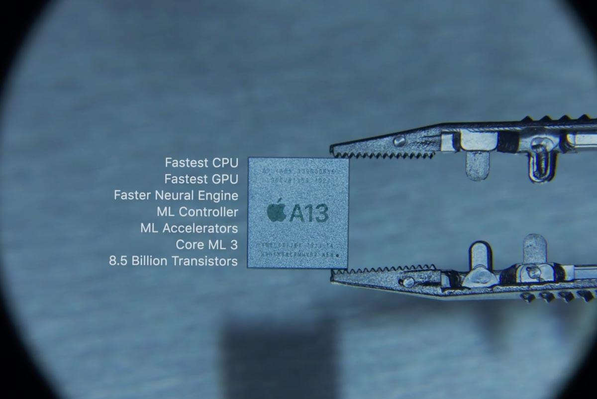 A13 Bionicプロセッサ