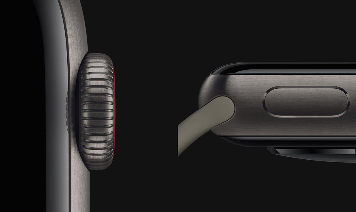 Apple Watch 5 チタンケース