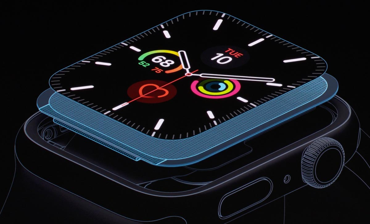 Apple Watch 5のLTPOOLED