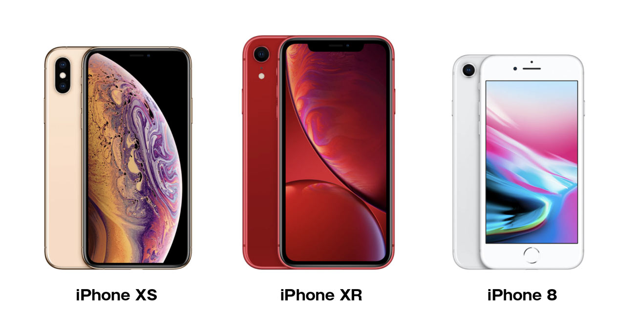 iPhone XR 画面サイズと本体サイズ