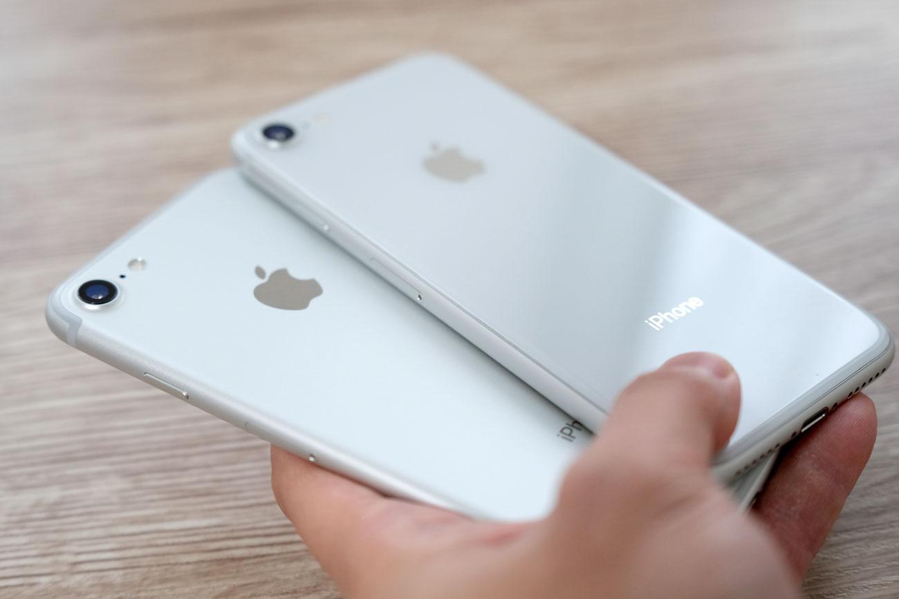 iPhone 7とiPhone 8