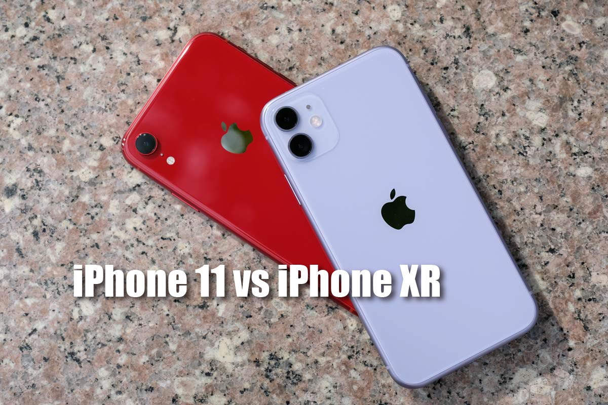 iPhone 11とiPhone XRを比較
