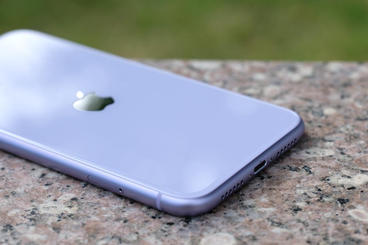 iPhone 11の背面パネル