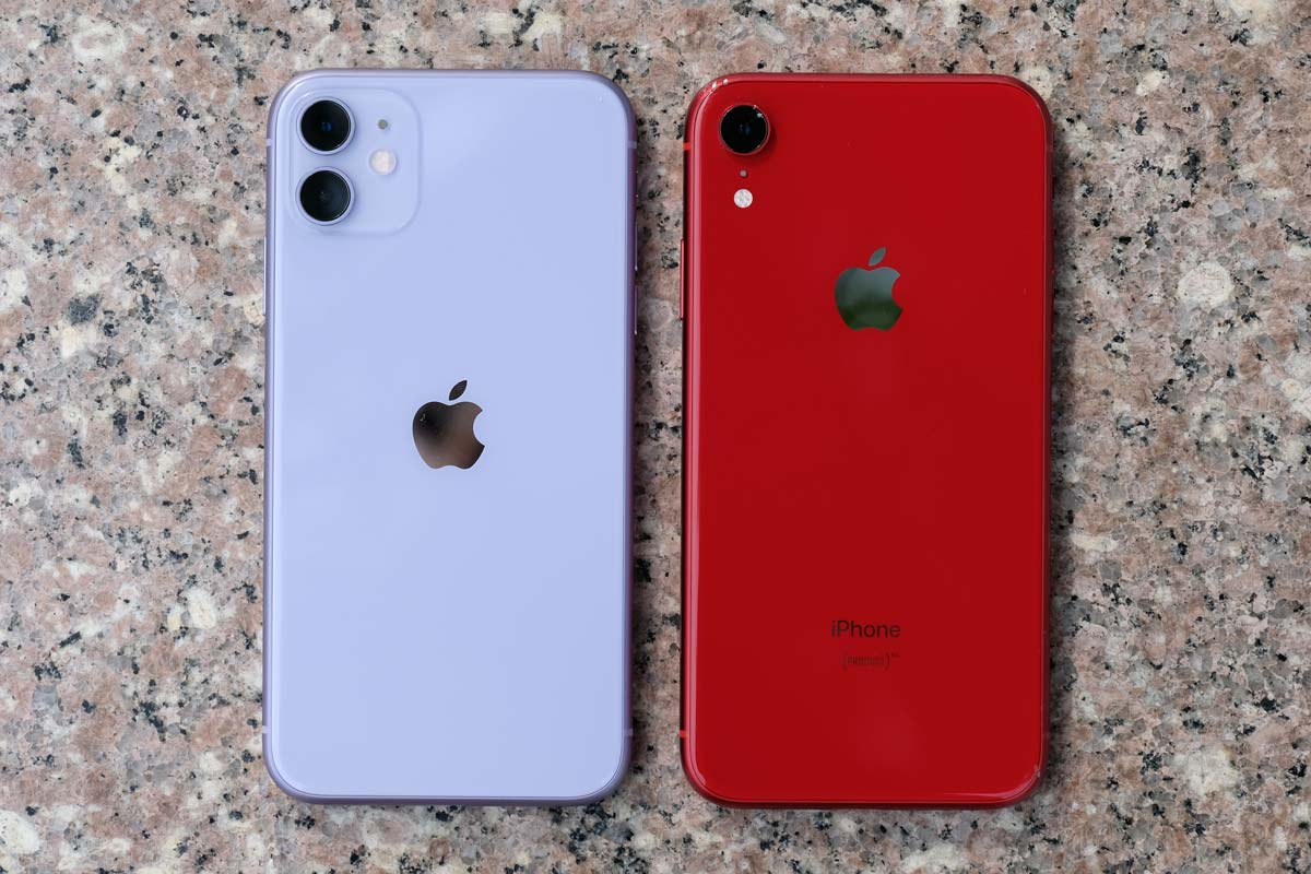 iPhone 11とiPhone XRの本体デザイン