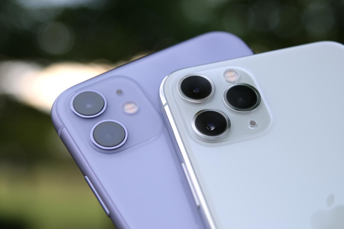 デュアルカメラとトリプルカメラ